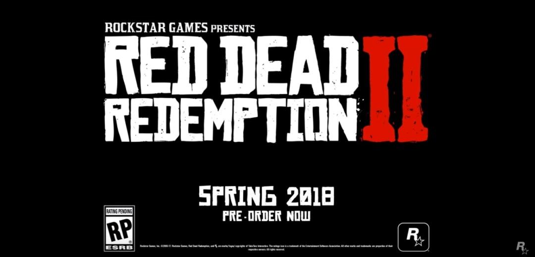 Red Dead Redempion 2 Trailer 8