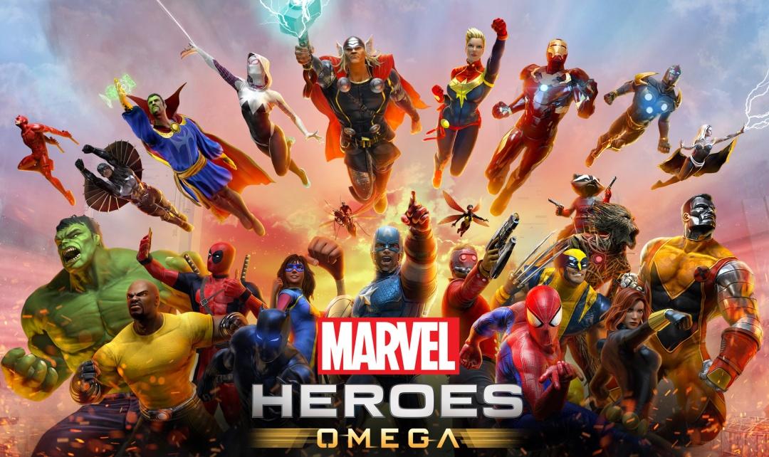 Marvel Heroes Omega Art