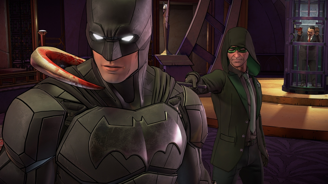 Batman The Enemy Within Riddler