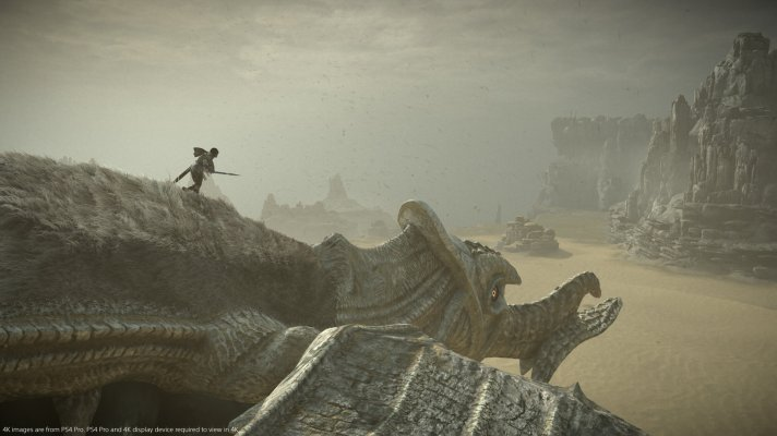 Shadow of the Colossus Remake Flying Colossus