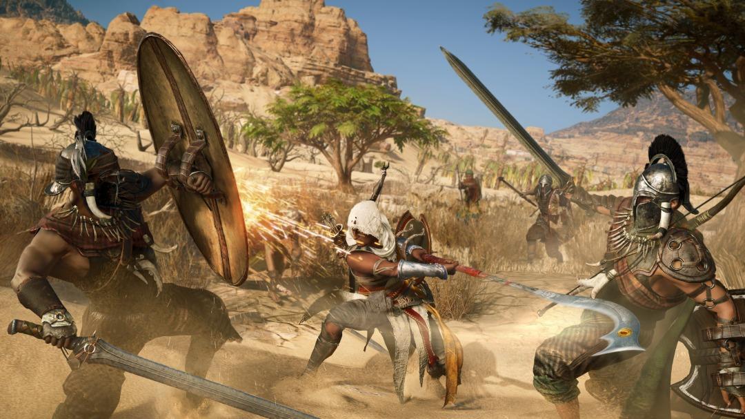 Assassins Creed Origins Combat