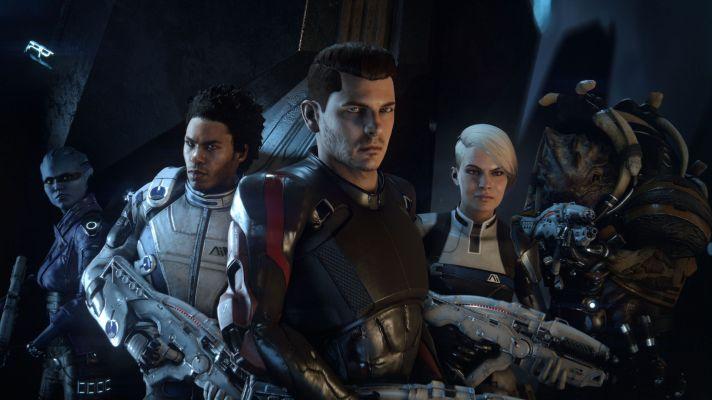 Mass Effect Andromeda Group Shot