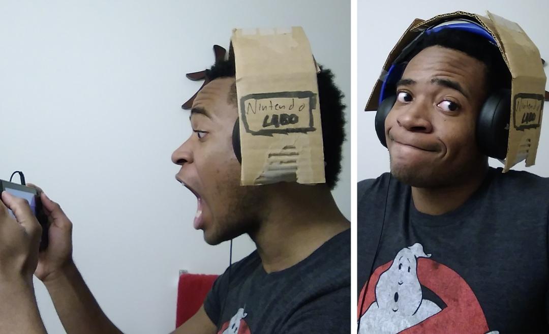 Nintendo Labo Headset Kit