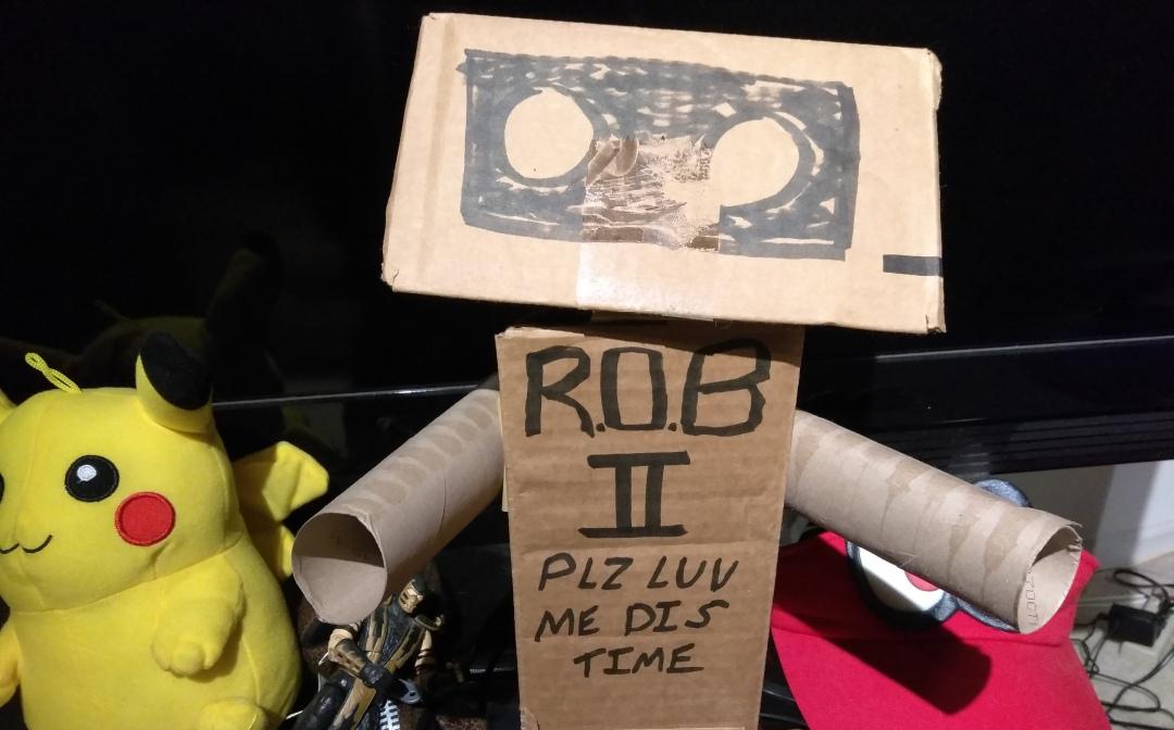Nintendo Labo ROB 2 Crop