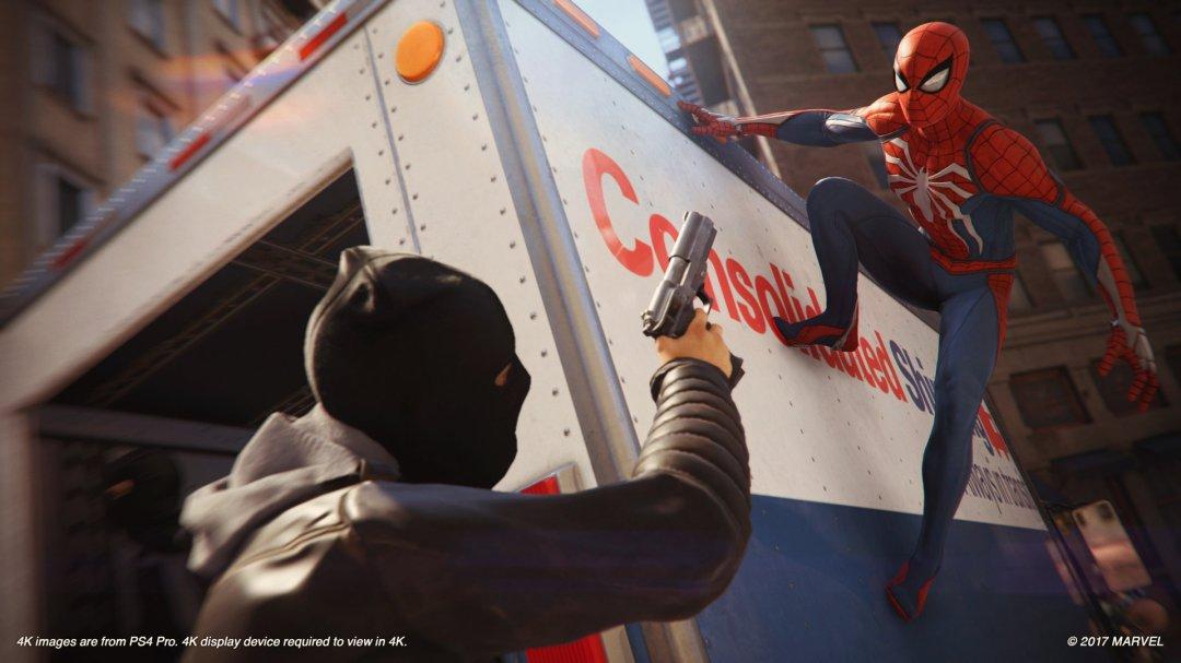 Spider-Man PS4 Sceen 1