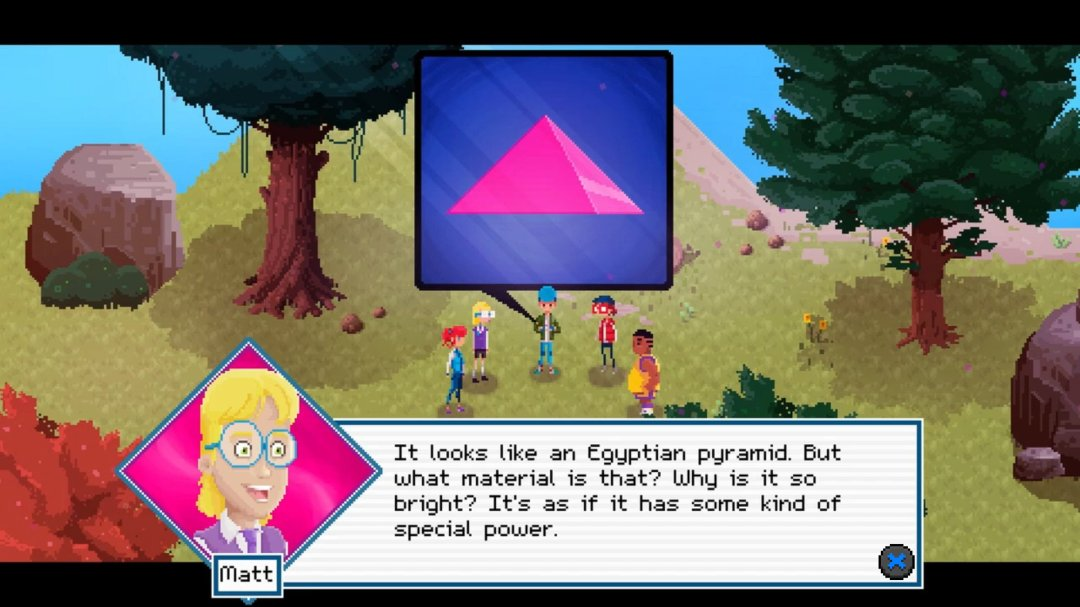 Crossing Souls Pyramid Scene