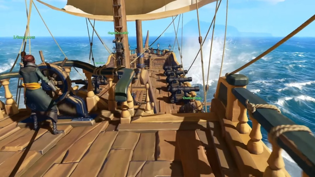 Sea of Thieves Ship Deck