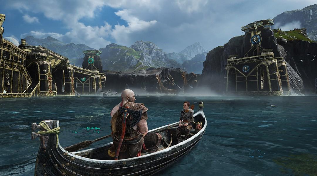 God of War Boat