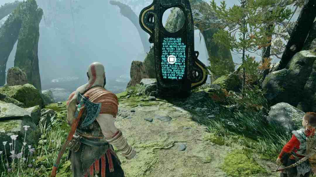 God of War Lore Marker