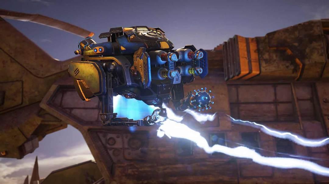 Gears 5 Jack shoots lightning