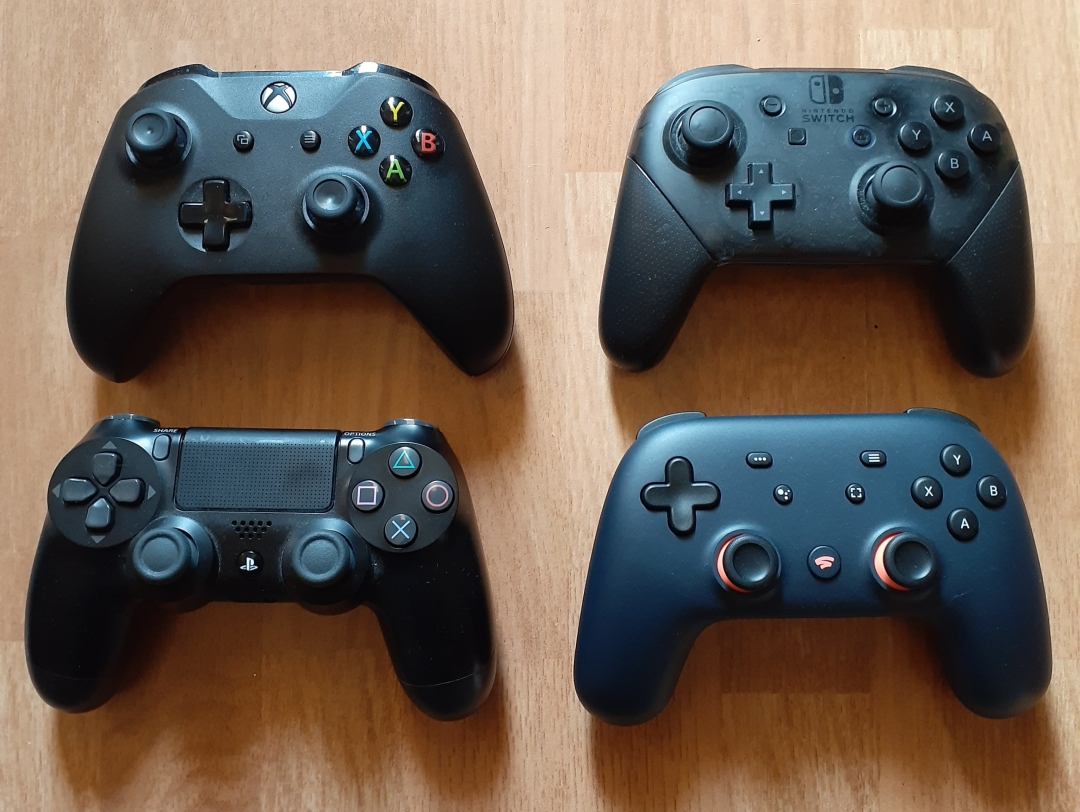 Controllers Comparison